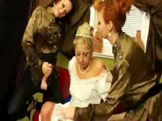 Sposa gets suo abito soaked in bukkake da caldi babes
