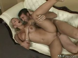Sassy Golden Haired Chick BriAnna Beach Receives Rammed And Cummed By A Huge Cock