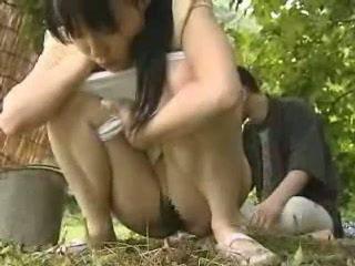 japoński, na wolnym powietrzu, azjatyckiego