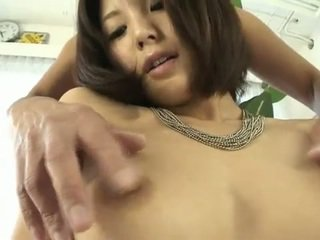 Tight hairy japanese pussy addicted to sweet cocks