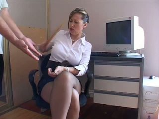 more blow great, quality blowjob real, office most