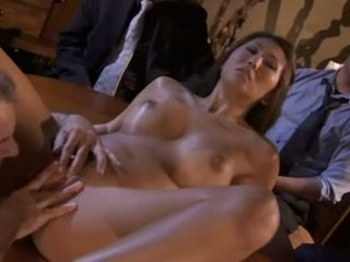 Asian whore Beti Hana is witnessed as she creams the cum out of this horny shaft