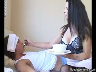 brunette new, hottest blowjob see, see nylon