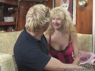 mooi hardcore sex actie, echt blondjes vid, echt nice ass
