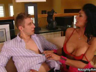 Persia Pele Hot Mature Hottie Smokin' A Hard Dick