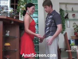 Gwendolen in arthur osupljivo analno film