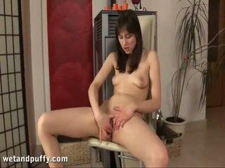 controleren kut scène, kijken masturbatie film, dildo sex film