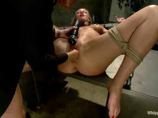 Scarlet Head Cop Elle Alexandra Shafts And Dominates Blonde Inmate Simone Sonay