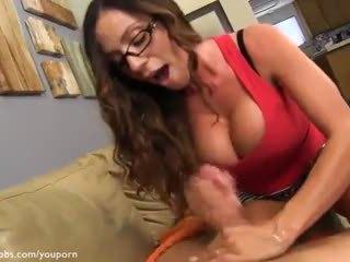 big tits, handjobs, pov