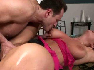 Breasty christina jolie acquires jos soaking šlapias twat rammed su stiff sunkus varpa