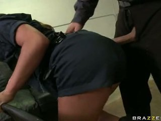 Mia LeLani Enjoy Swallowing A Pork Dagger Of A Lewd Police