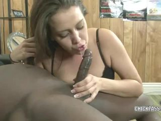 Eager about the large darksome cock with bridgette