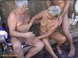 velho, avó, sexo