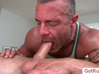 Chap getting rimmed wazoo trong khi massage