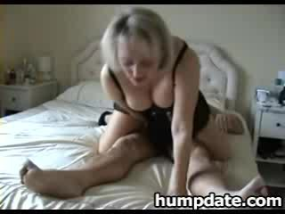 big Titty mature wife with amazing big booty rides shaft