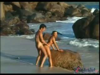 usted doggystyle más, más caliente semen ideal, playa