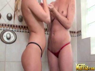 brunette porno, echt blondjes film, groot lesbo vid