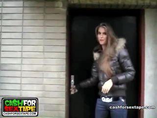 sex for cash, sex for money, homemade porn, cash for sex tape