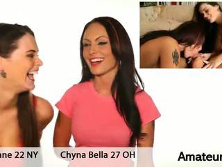Chyna bella at tessa lane pagtatalik