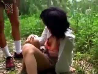 Asiatique écolière turned sexe esclave gets maltraitance hardcore