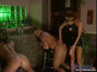groot scène, een brunette porno, pervers