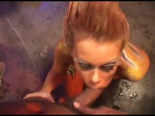 deepthroat, nice blow job video, gagging film