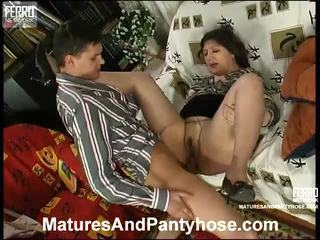 Matures And Pantyhose Presents Collection Of Hardcore Sex Movs