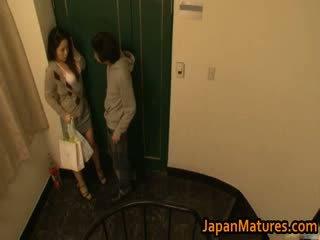 Ayane asakura érett ázsiai modell has szex