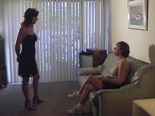 u lesbiennes film, mooi femdom porno, spanking