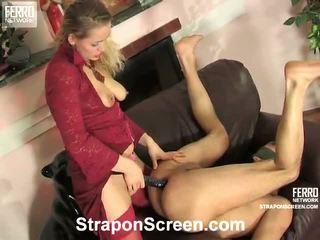 controleren strap-on seks, strap on bitches video-, een vrouwelijke dominantie film