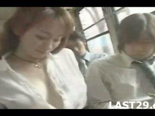grote borsten klem, controleren japan neuken, controleren bus