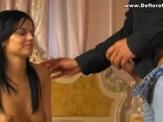 Hot Young Latin Girl Deflorated