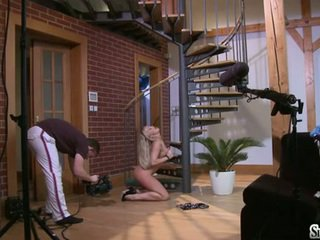 fresh melons, hq masturbating porn, hottest busty blonde katya scene