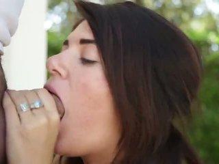 Pov facial loving cock sucker babe