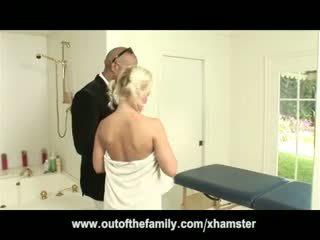 Shane Diesel Massages And Fucks Blonde Teen