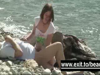 Secret Amateur Nude Beach Footage Video