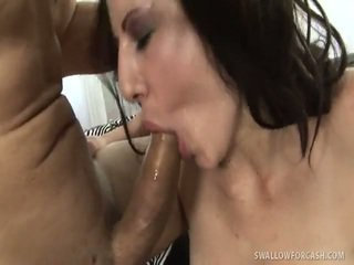 Curvaceous Brook Foxxx Paid For Swallow