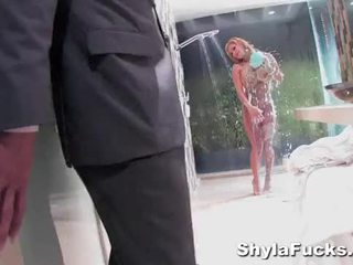 Shyla Stylez's Anal Pounding in the Bathroom