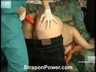 Susanna And Monty Strapon Abuse Vid