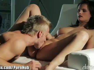 Rita Peach - DaringSex Big Tits Brunette Babe Passionately Fucked