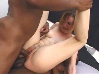 brunette, putain de, blanc, jeune