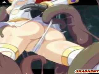 Cute Hentai Elf Caught And Hot Drilled Wetpussy By S