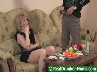 Not real drunken moms anal