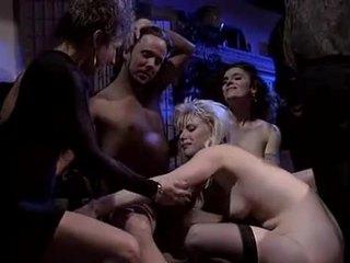 orale seks, nieuw dubbele penetratie, ideaal groepsseks neuken