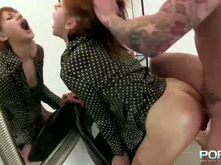 PornXN Intense fist fucking and squirting