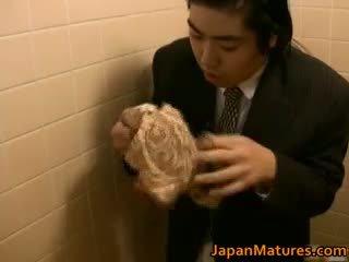 японський, груповий секс, великі сиськи, зрілий