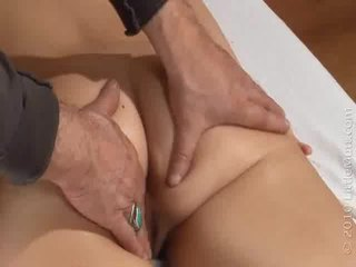 Haley Hanes Takes The Super MasSage From Sal 02 04 2010
