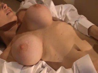 Porner Premium: Lovely brunette gives spectacular solo show