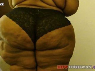 bbw vid, een vet thumbnail, groot natuurlijk