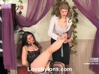 Ninnon And Peggy Nasty Stockings Movie